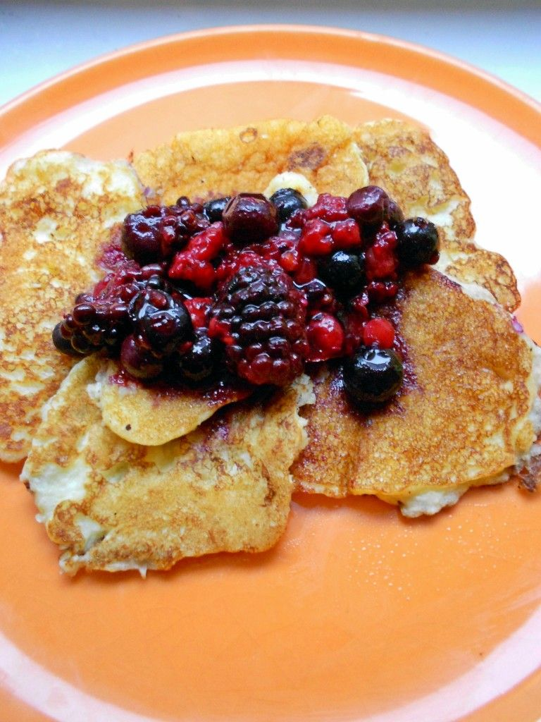 Low Carb Kokos-Pancakes